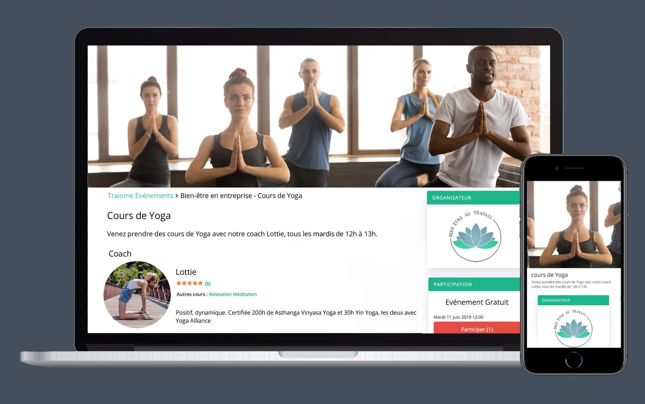 Profitez d'une plateforme dédiée pour gérer vos cours et communiquer en un claquement de doigts